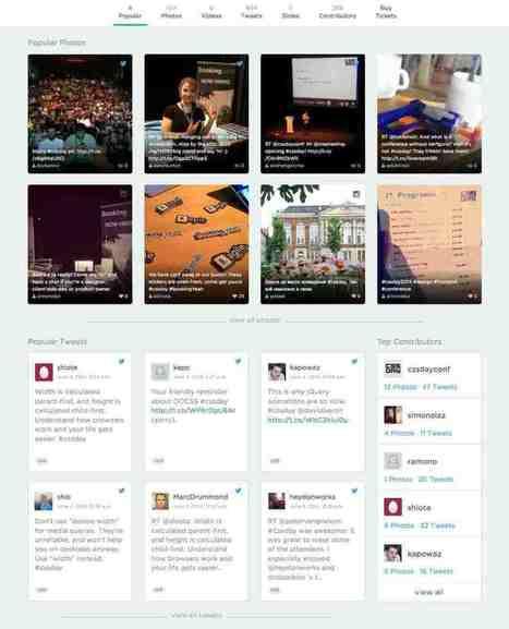 Eventifier. Outil de curation pour vos événementiels | Les outils de la veille | Les outils du Web 2.0 | Scoop.it