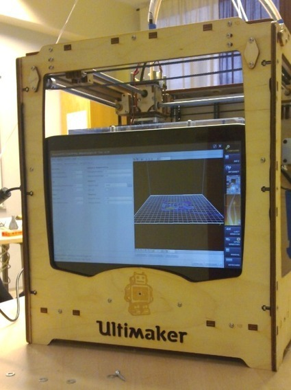 3ders.org - DIY a Ultimaker control unit with an old tablet | 3D Printing news | This week in 3d printing | Scoop.it