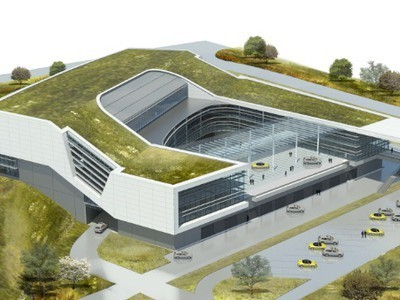 Porsche American Headquarters Has Green Roof, Natural Ventilation | scatol8® | Scoop.it