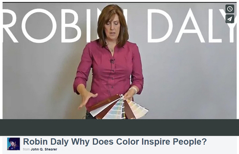 Robin Daly Why Does Color Inspire People? | Paint Colors | Scoop.it