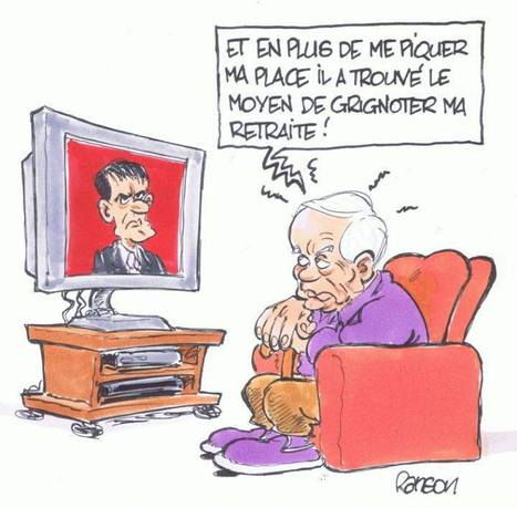 Gel des retraites | Baie d'humour | Scoop.it