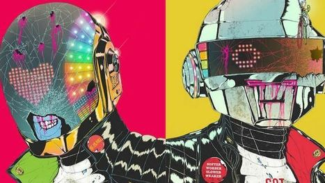 Daft Punk-Inspired Art Show Set for San Francisco Gallery - CBS Local | 'THE ARTS' | Scoop.it