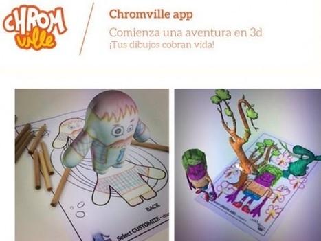 Chromville, aplicación de realidad aumentada para niños | Recull diari | Scoop.it