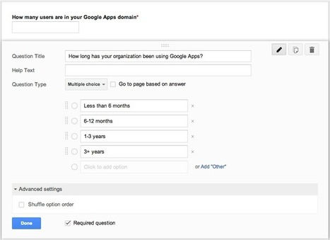 Randomize answer options for Google Forms | Google Gooru | New Web 2.0 tools for education | Scoop.it
