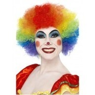 Clown / Joker Wigs : Clown Wig - Rainbow (Medium) | Quality Party Wigs - Masquerade-Carnival.co.uk | Scoop.it