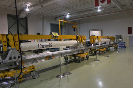 Canadarm overshoots CSA HQ - Lands in Ottawa | More Commercial Space News | Scoop.it