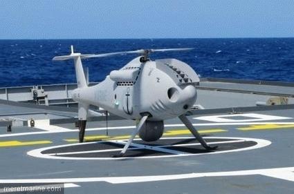 Un nouveau drone Camcopter pour la marine française | Mer et Marine | Veille Défense Forces Armées | Scoop.it