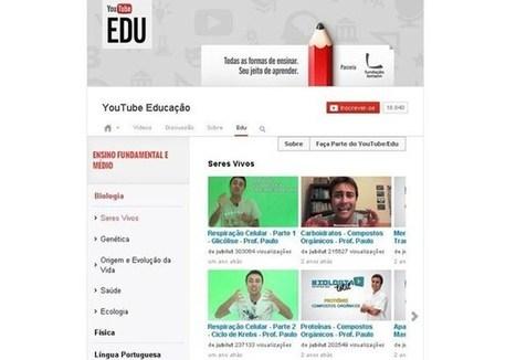 Google e Fundação Lemann lançam 8 mil vídeos educativos no YouTube   Tecnologia em educação   Scoop.it