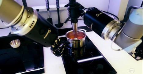 Ce cuisto qui vous prépare une bisque de crabe est un robot - Numerama | Les robots de service | Scoop.it