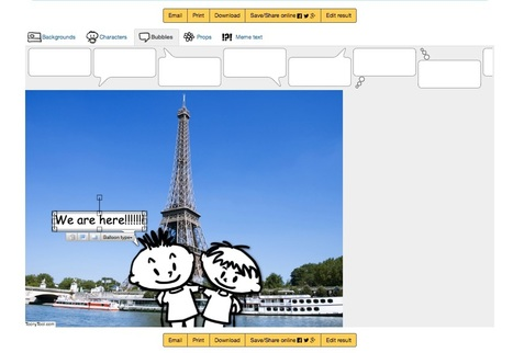 Create and share cartoons, comics and memes online | Technology and language learning | Scoop.it