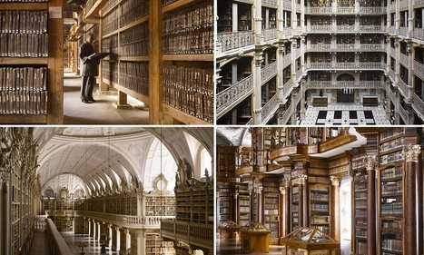 World's most stunning libraries captured in new book | Library Chatter | Scoop.it