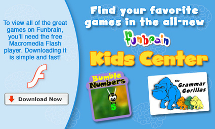 FunBrain.com - Kids Center - Interactive Learning Across Curriculum | 21st Century TESOL Resources | Scoop.it