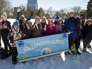 Guides celebrate World Thinking Day - London Community News   Scouting around the world   Scoop.it