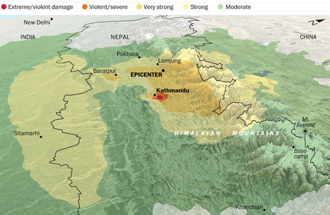An earthquake felt across South Asia | Alive classroom | Scoop.it