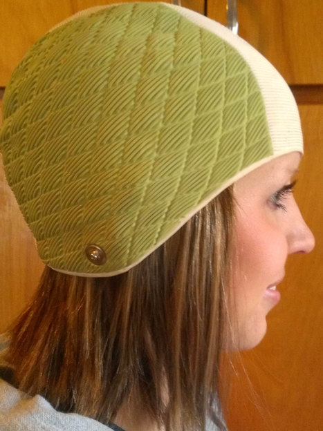 White and Green Sleek Playtex Swim Cap From The 1940's | Kitsch | Scoop.it