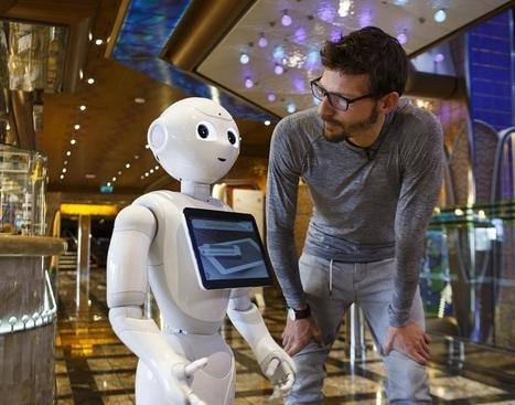 Costa Croisières : 5 robots Pepper montent à bord du Costa Diadema | French speaking media | Scoop.it