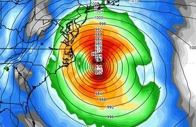 Hurricane Sandy may be unprecedented in East Coast storm history | Mrs. Nesbitt's Human Geography World | Scoop.it