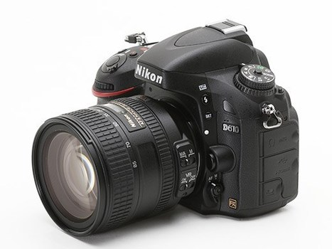 Nikon launches D610 full-frame DSLR with updated shutter mechanism - Slight improvement? | photos and photos | Scoop.it