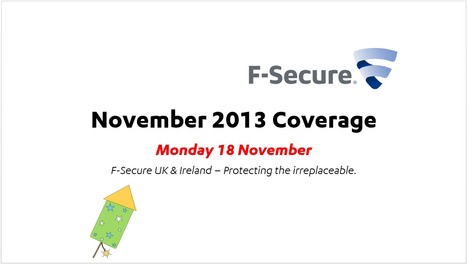 November Coverage (18th) | F-Secure Coverage (UK) | Scoop.it