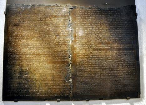Claudio I - Senado 0: La Tábula Claudiana y la obtención de la ciudadanía en Lyon. | Roma Antiqua | Scoop.it