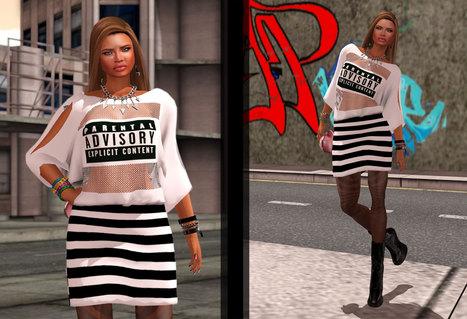 Freebie Look do Dia #2- FLDD #2 ~ Adoro Fashion! | Finding SL Freebies | Scoop.it