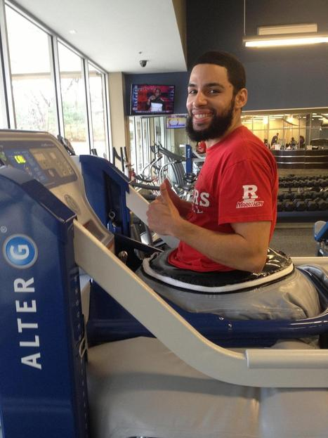 Gravity Defying Treadmill Unveiled at Somerset Training Facility - Packet Online | Aspect 1 Anti G Treadmill | Scoop.it