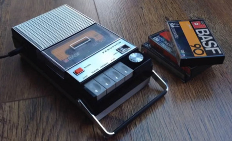 Someone put Spotify inside this old cassette recorder | Outbreaks of Futurity | Scoop.it