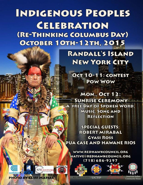 Take That, Columbus! Celebrate NY Indigenous Peoples Day on Monday and Pow Wow This Weekend | indian Country Today | Kiosque du monde : Amériques | Scoop.it