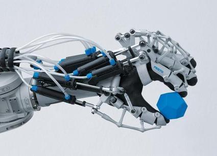 Design News - Product News - Festo's Robotic ExoHand Provides Strength & Endurance | Robotique de service | Scoop.it