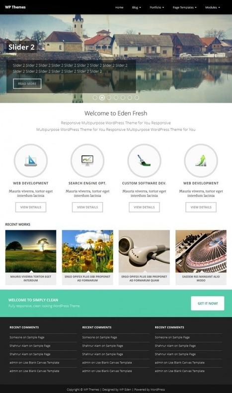 Sensitive Pro - Responsive Multipurpose WordPress Theme v2.1.0 released - WP Eden | WordPress | Scoop.it