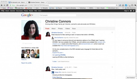Thoughts on Google Plus: The Magic Isn't Social, It's Semantic | Dam Foundation | SemWeb 3.0 | Scoop.it