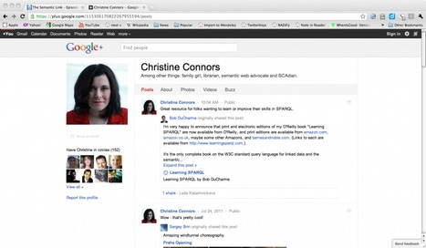 Thoughts on Google Plus: The Magic Isn't Social, It's Semantic - semanticweb.com | Semantic in Wiki for business use | Scoop.it