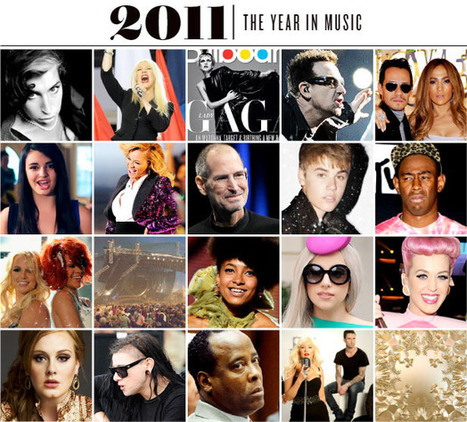 The Top 20 Music Moments of 2011 | Billboard.com | Transmedia Music Icons | Scoop.it