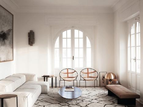 Un appartement moderne et minimaliste à Rome | Décoration | Scoop.it