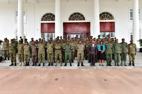 UPDF High Command Meets at State House Entebbe | | UgandaNuz | Scoop.it