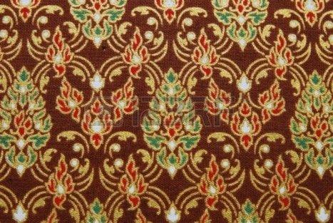 Thai cloth pattern   Year 3-4 Arts: Visual arts - Thai patterns   Scoop.it