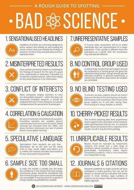 Spotting Guide to Bad Science | Applied linguistics and knowledge engineering | Scoop.it
