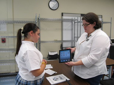 Academy of Our Lady in Marrero issues iPads to eighth- and ninth-graders | The iPad Classroom | Scoop.it