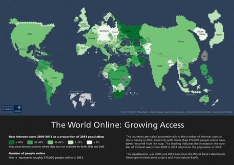 Die Mehrheit der Menschen ist immer noch offline | Medienkompetenz im digitalen Zeitalter | Scoop.it