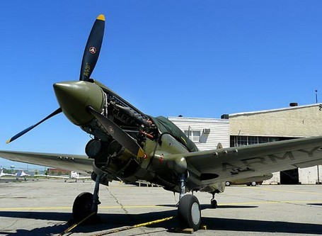 Curtiss P-40 Warhawk 22 - WalkAround - Photographies | History Around the Net | Scoop.it