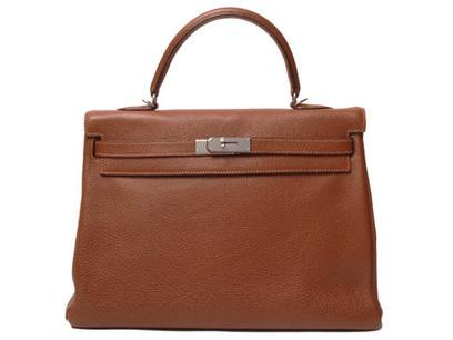 エルメス バッグ ケリー35 内 ブッフルスキッパー ブラウン シルバー金具 [エルメス-66] - 975,900円 : | bag-search | Scoop.it