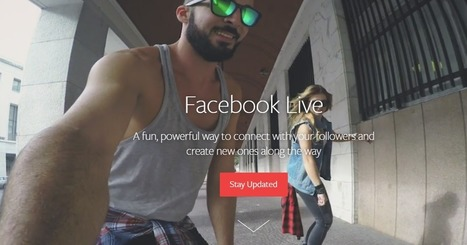 5 Best Practices for Using Facebook Live | Social Media, SEO, Mobile, Digital Marketing | Scoop.it