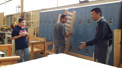 Wood shop class promotes creative and cooperation skills | Manufacturing | Scoop.it