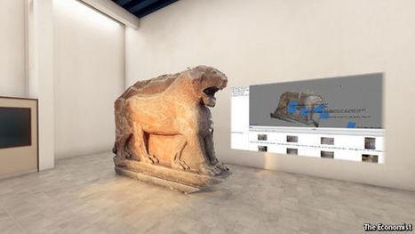 [Article CLIC France] The Economist s'associe à l'ONG Rekrei pour lancer une visite du musée de Mossoul en réalité virtuelle | qrcodes et R.A. | Scoop.it