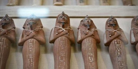 Tourism police foils an attempt to sell 1,774 illegally excavated artifacts | Egiptología | Scoop.it