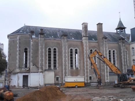 Démolition d'une chapelle conventuelle à Nantes | L'observateur du patrimoine | Scoop.it