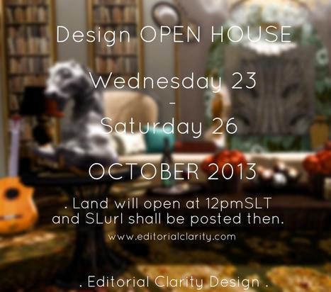 DESIGN OPEN HOUSE - Opens TODAY!   SL Homes & Gardens Scoop   Scoop.it