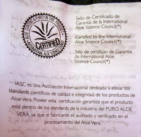 REVIEW: mascarilla aloe vera 100% pure de Universo Garden Angels | Beautypul | Beautypul | Scoop.it
