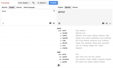 Google Translate ganha novos recursos | Teaching and Learning English through Technology | Scoop.it