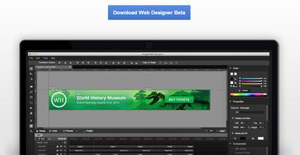 Google lanza la versión beta de Web Designer, una herramienta gratuita para crear banners y campañas publicitarias en HTML 5. | Desarrollo de Apps, Softwares & Gadgets: | Scoop.it